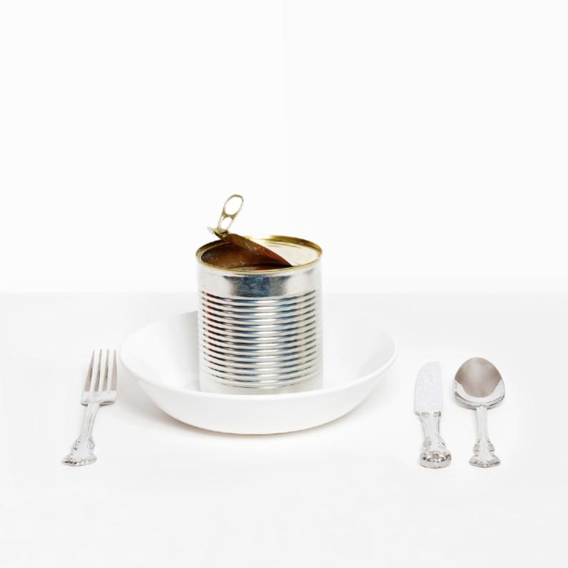 Uitnodiging etentje - Blik Blanco  1