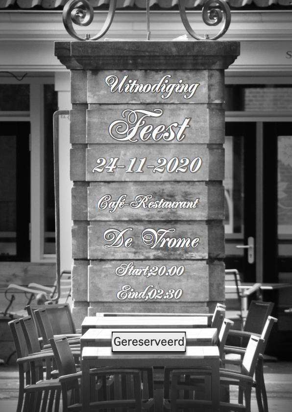 uitnodiging feest gereserveerd 1