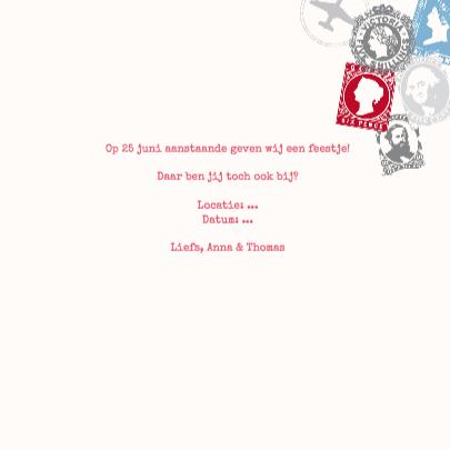 Uitnodiging Feestje Airmail 3