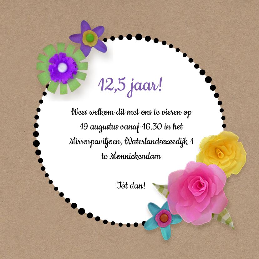 Uitnodiging Fleurig jubileum 3