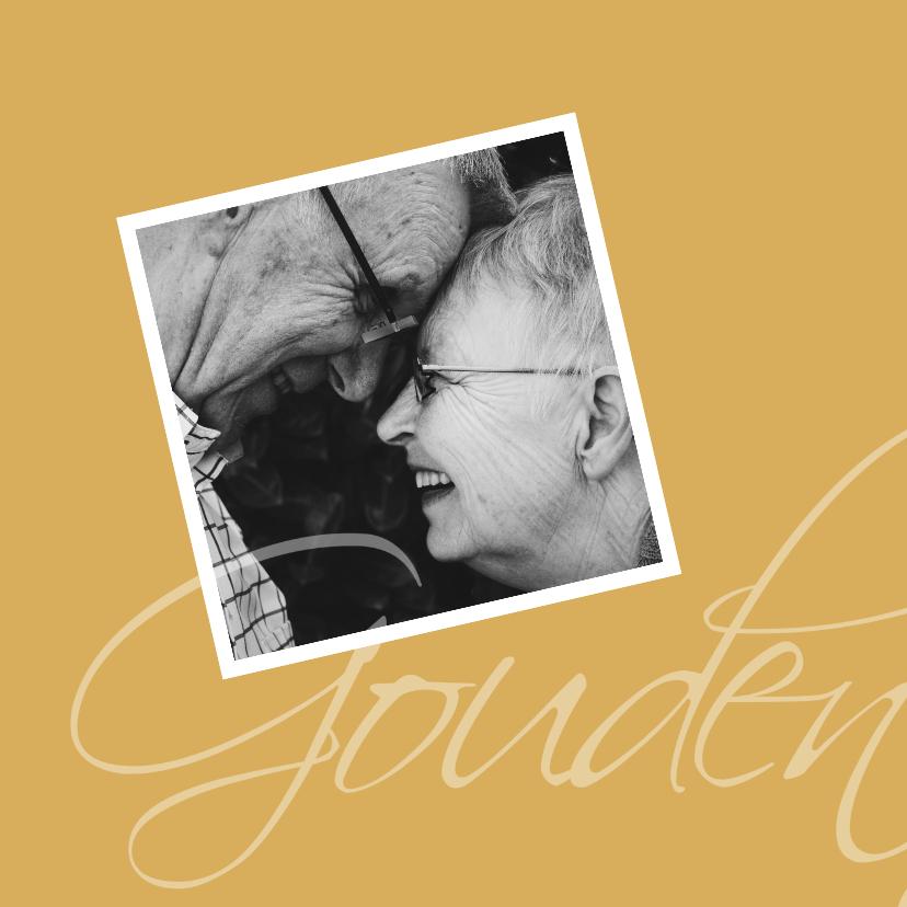 uitnodiging gouden bruiloft 2