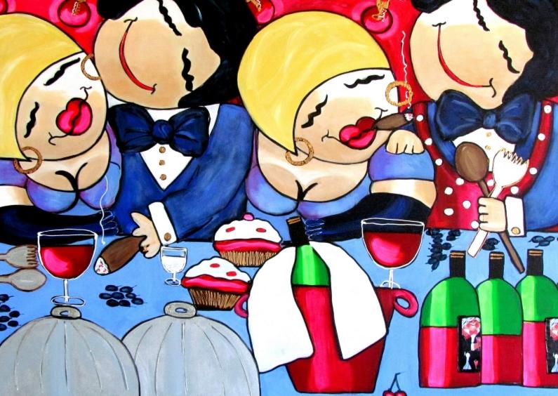 Uitnodiging Het familie diner 1
