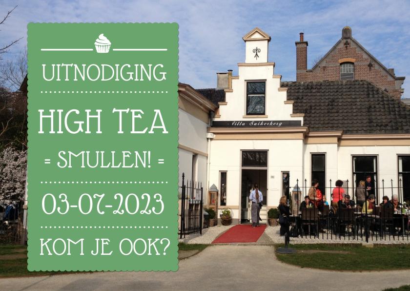 Uitnodiging High Tea Foto 1