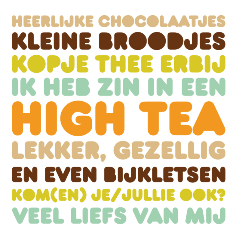 Uitnodiging High Tea Letters Thee  1