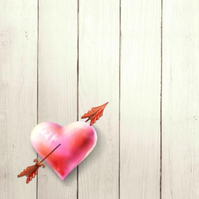 Uitnodiging huwelijksfeest hart 2