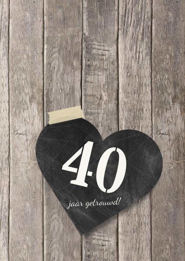 Uitnodiging jubileum foto's hout 2