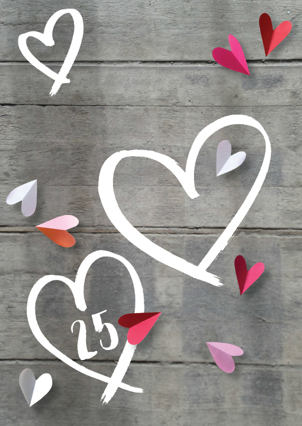 uitnodiging jubileum hart hout 1