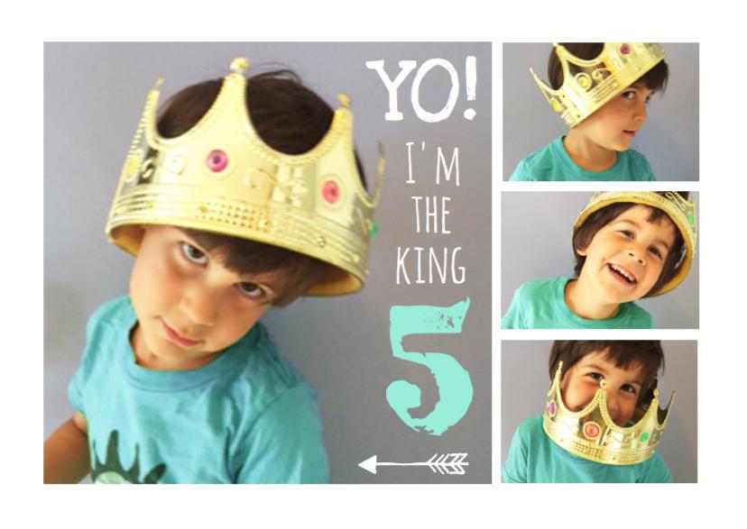 Uitnodiging kinderfeest collage  1