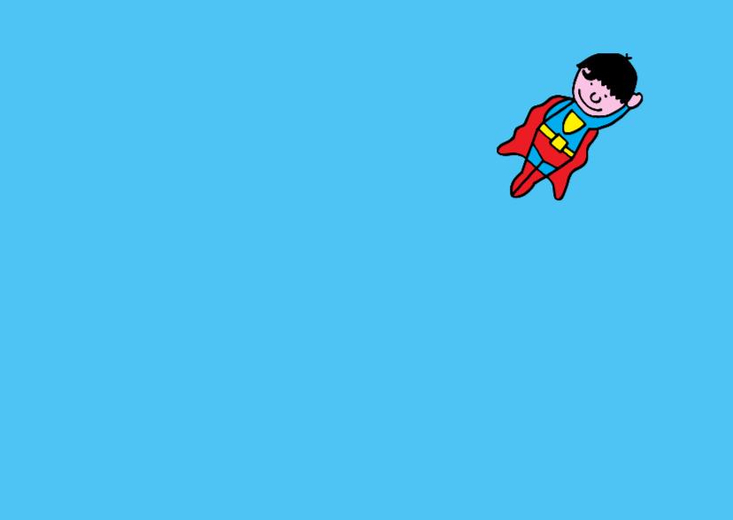 uitnodiging kinderfeest superman 2
