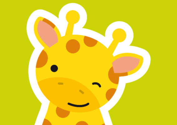 Uitnodiging Kinderfeestje Giraffe 2