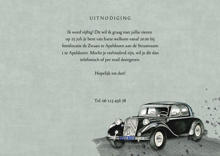 uitnodiging oldtimer 3