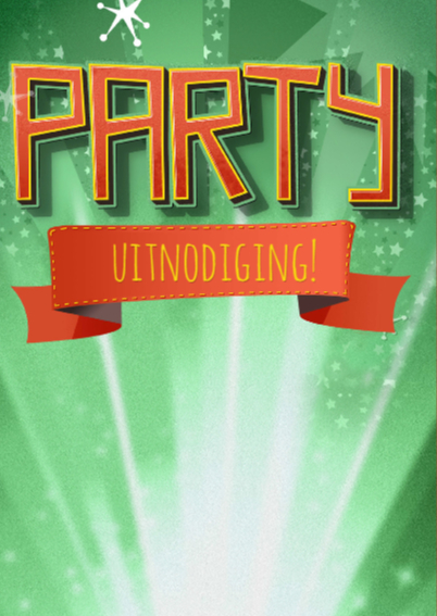 Uitnodiging PARTY - DS 2