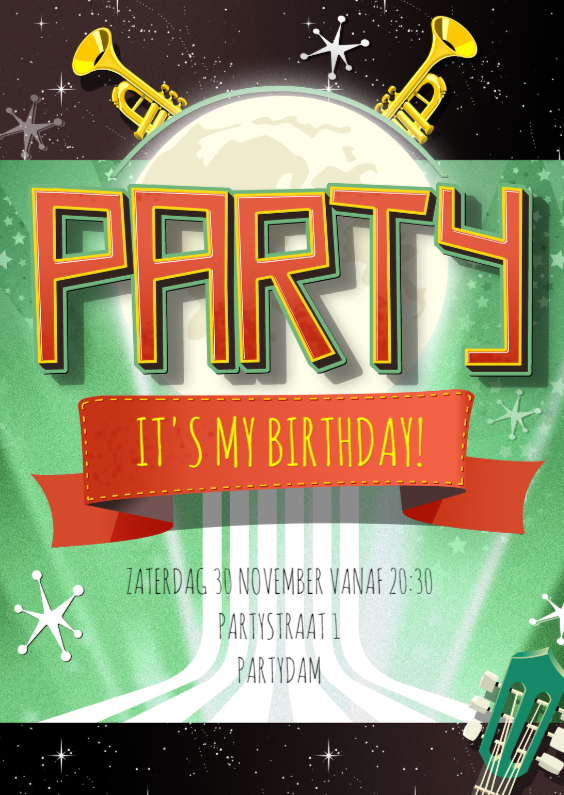 Uitnodiging PARTY - DS 1