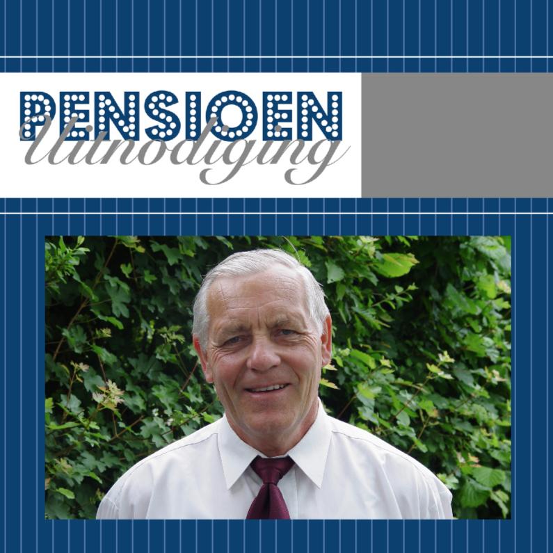 Uitnodiging pensioen  gestreept 1