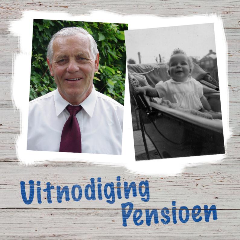 Uitnodiging pensioen hout 1