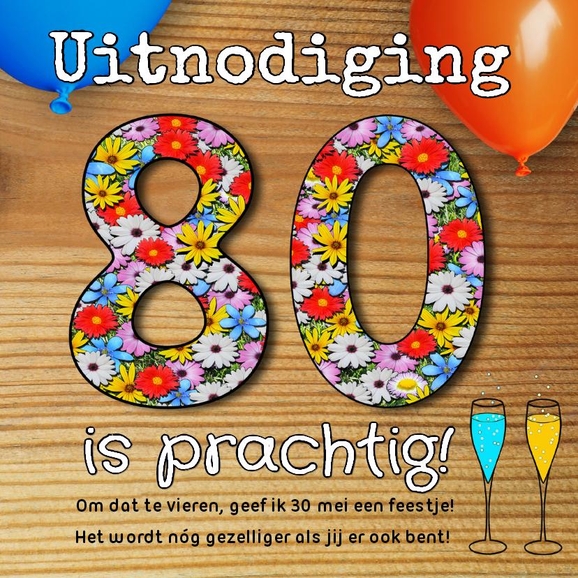 80 Jaar Verjaardag