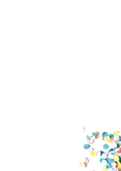 Uitnodiging Verjaardag Confetti Party 3