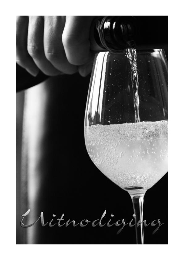 Uitnodiging wijnglas 1