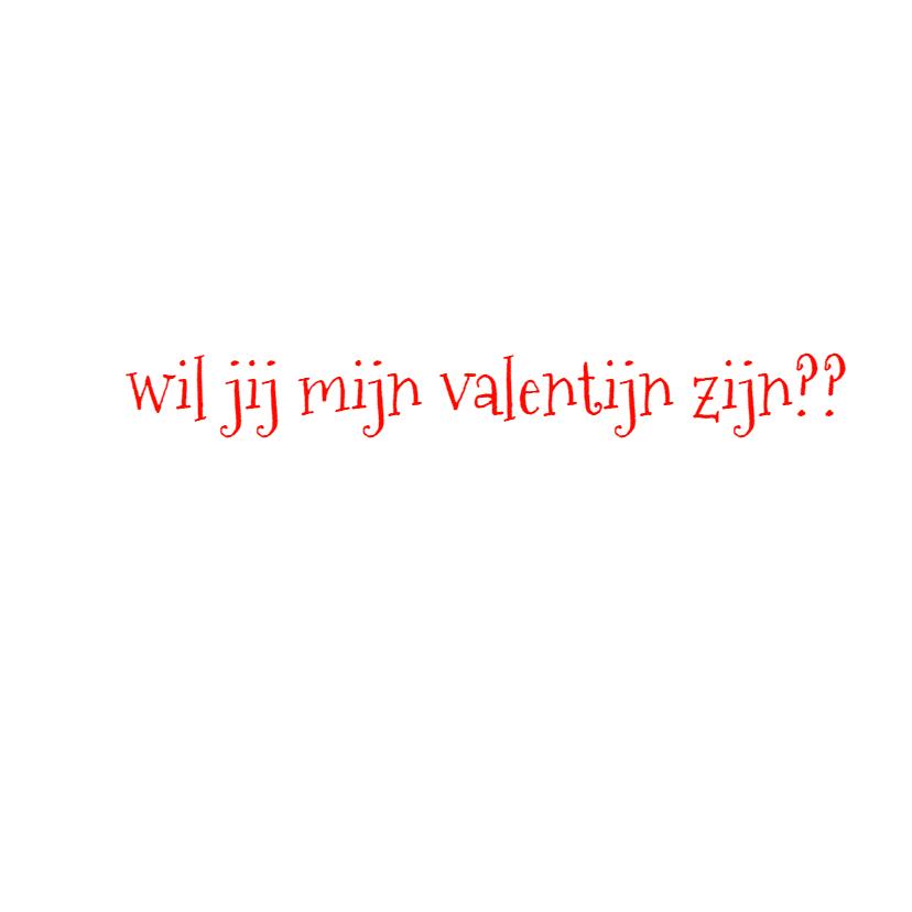 valentijnskaart hart en stippen 3