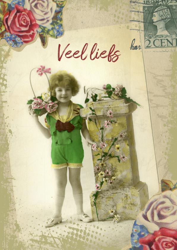 Veel liefs vintage meisje 1
