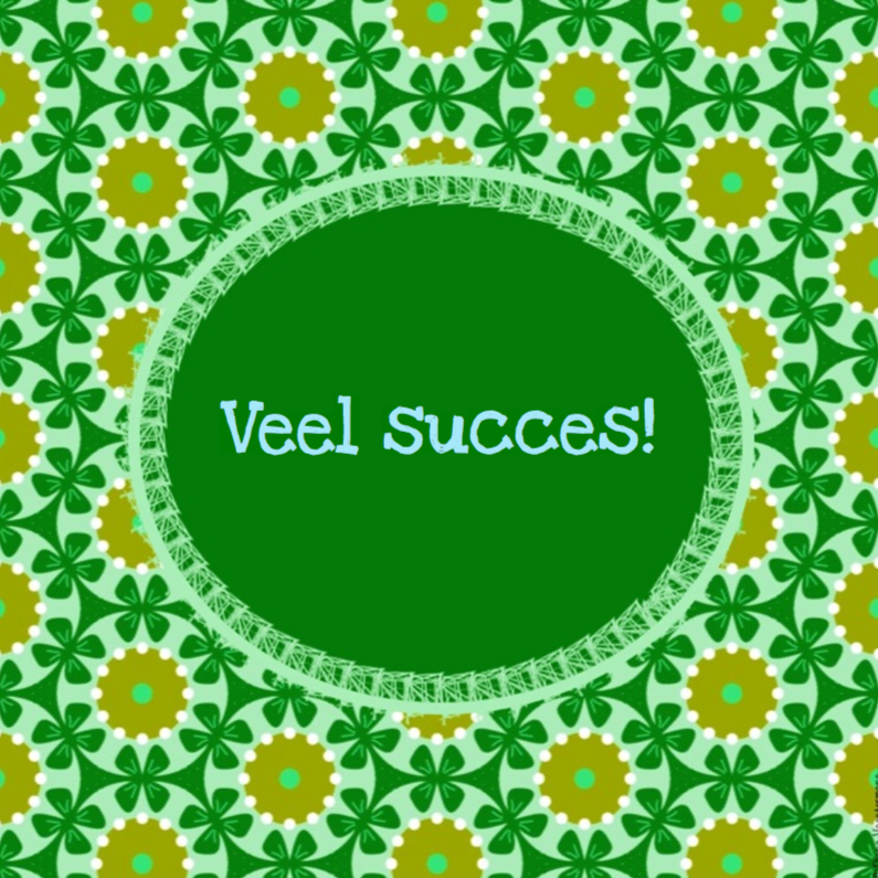 Veel succes 1