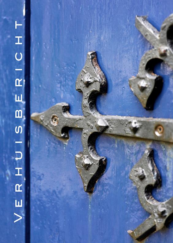 Verhuisbericht deur in Grieks Blauw 1