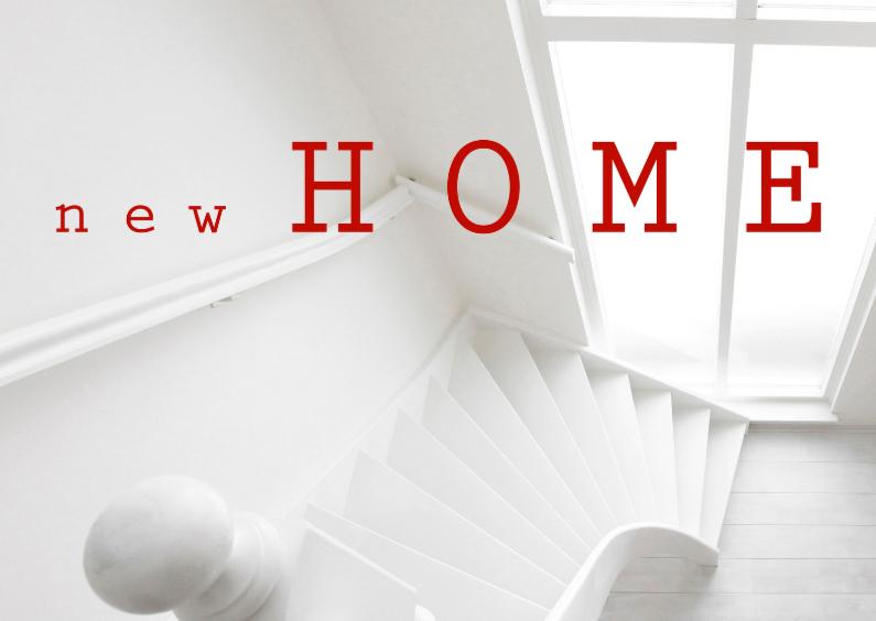 Verhuisbericht New Home Wit OT 1
