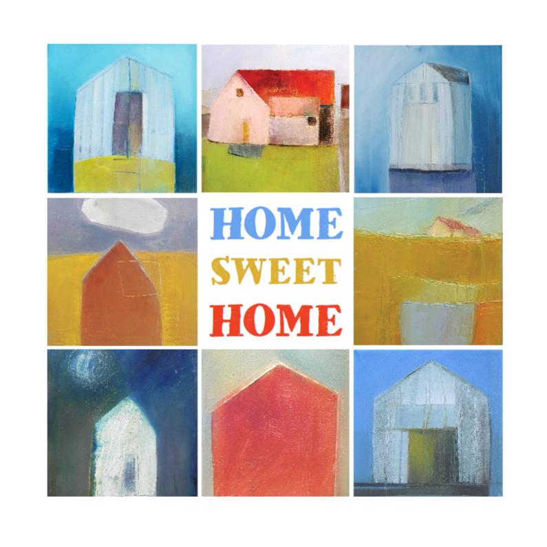 Verhuiskaart kunst huizen 1