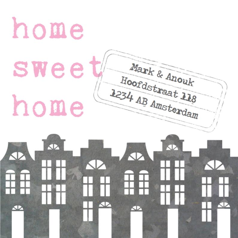 Verhuiskaart Sweet Home 1