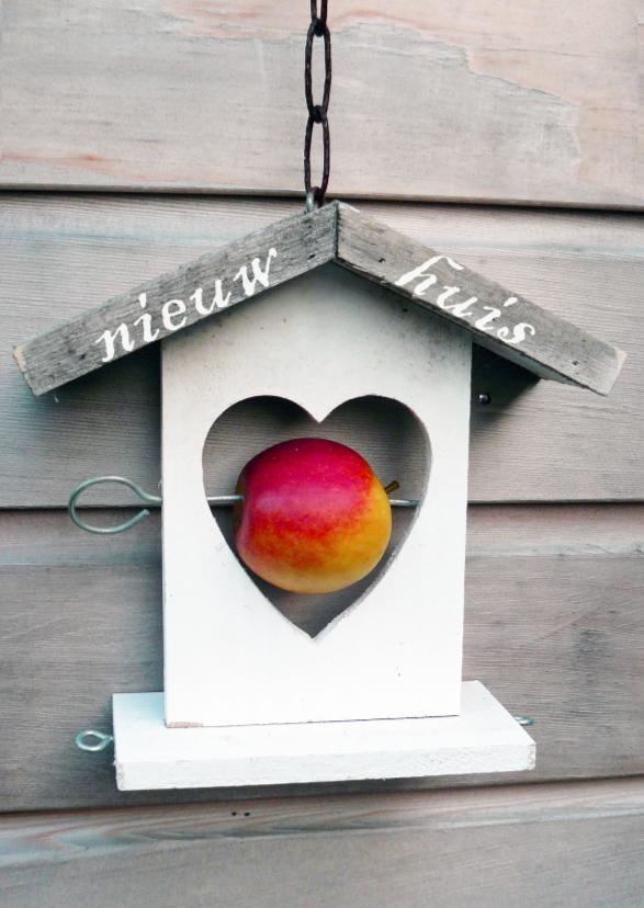 Verhuiskaart vogelhuisje hart 1