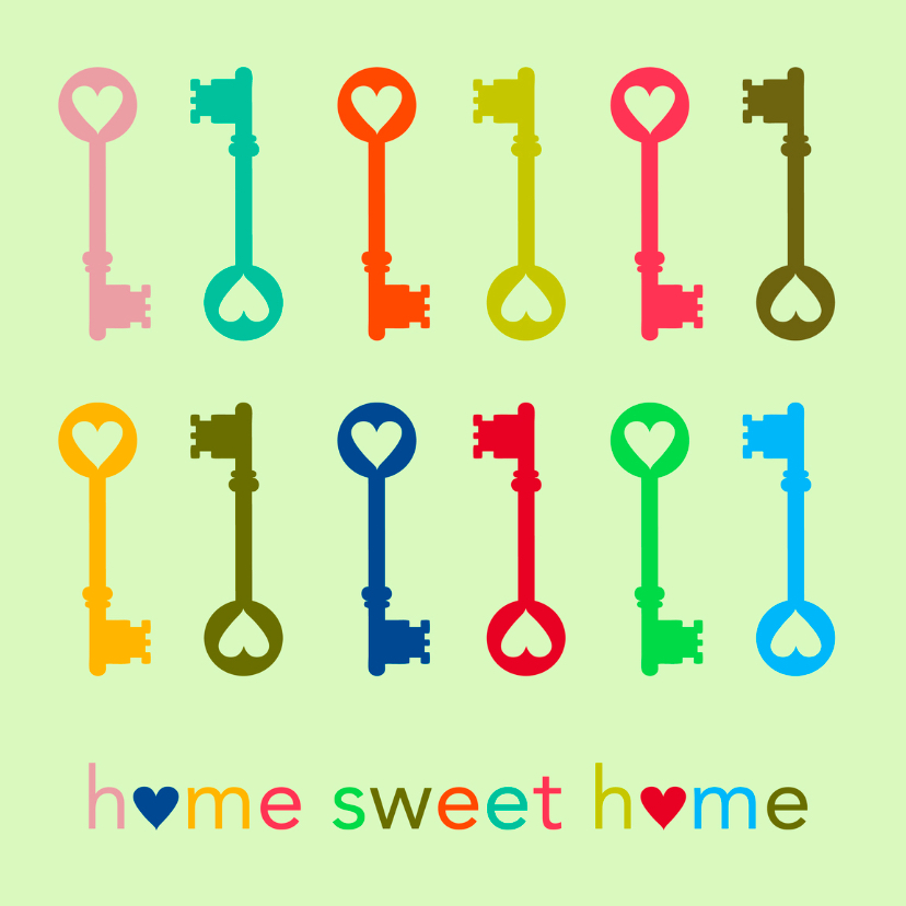 Verhuizen, home sweet home 1