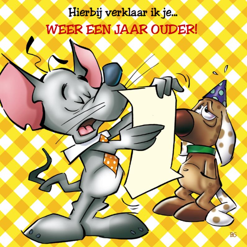verjaardag 17 muis en hond 1