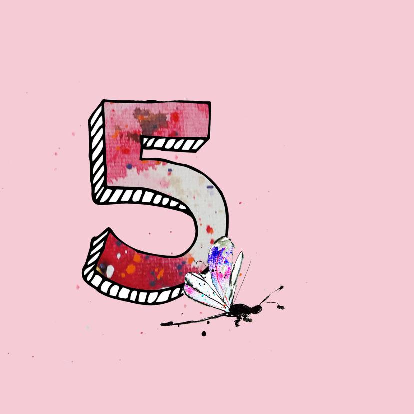 verjaardag 5  jaar meisje 2