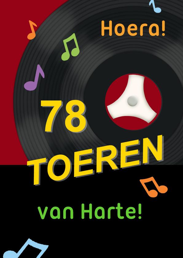 Verjaardag 78 toeren-plaat 1