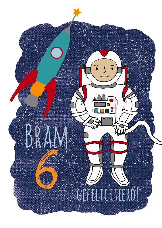 verjaardag astronaut 1