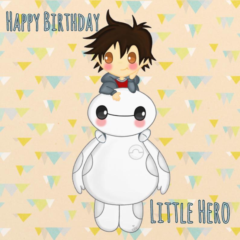 Verjaardag Big Hero - TbJ 1
