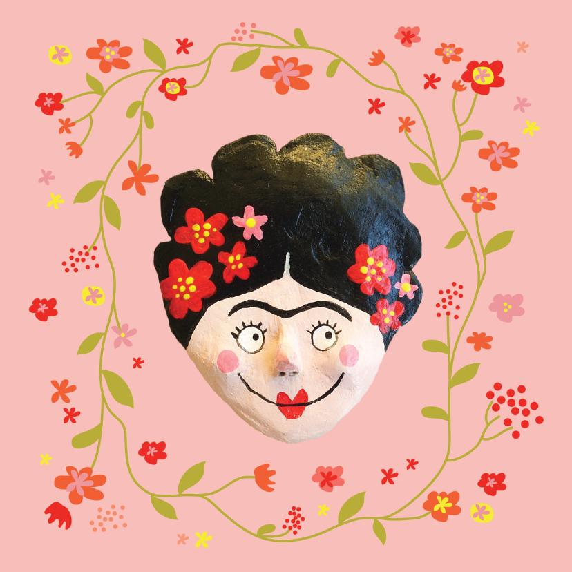 verjaardag Frida Kahlo bloemen 1