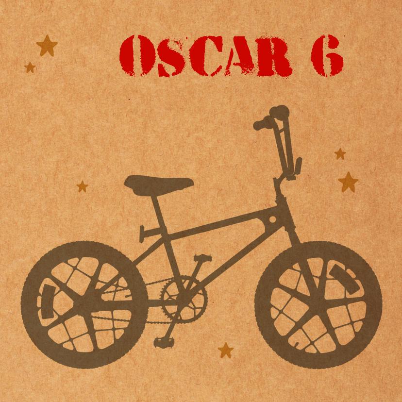 Verjaardag jongen bmx fiets 1