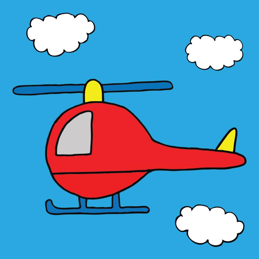 verjaardag jongen helikopter 1