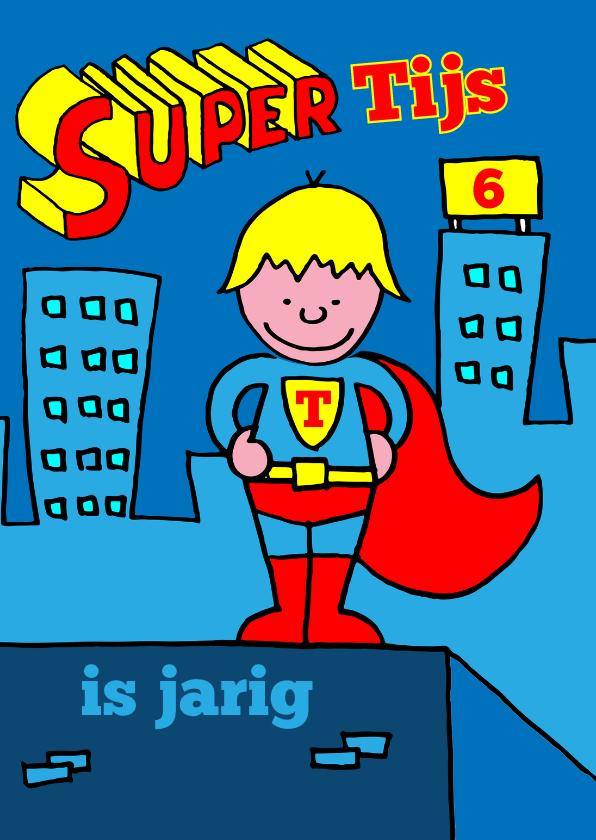 verjaardag jongen superman blond 1