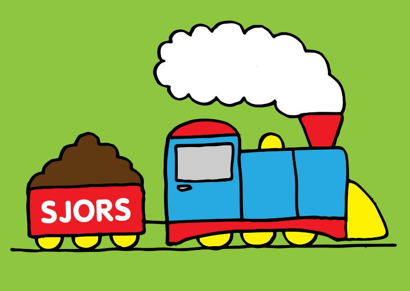 verjaardag jongen trein 1