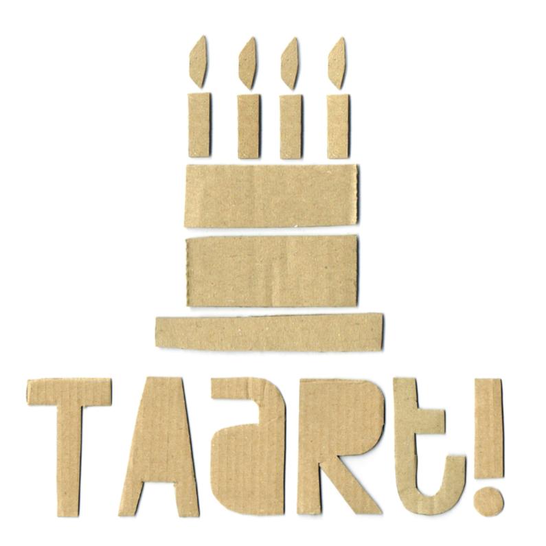 Verjaardag Karton Taart 1