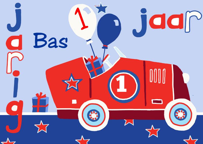 verjaardag kind 1 jaar auto 1