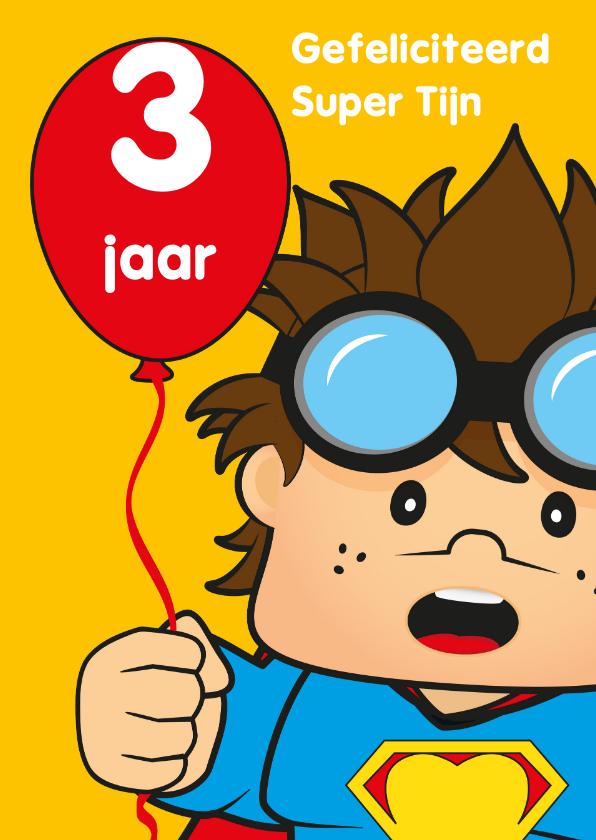 verjaardag kinderfeest spiderman J 1