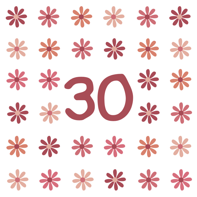 verjaardag leeftijd bloem 1