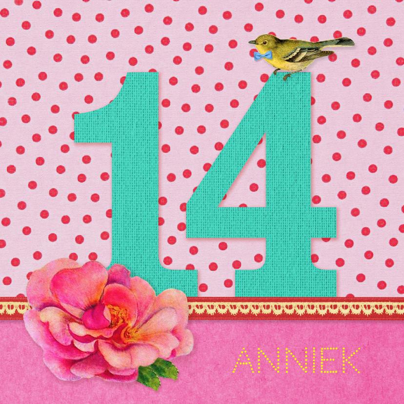 Verjaardag Meisje 14 1