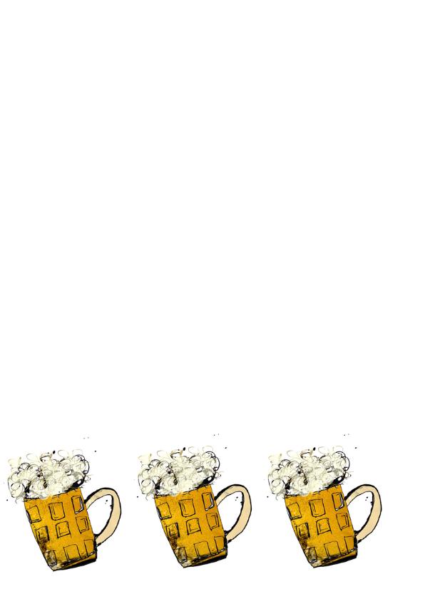 Verjaardag met bier mannen 2