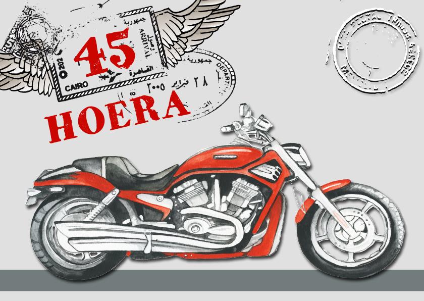 verjaardag motor jarig 1