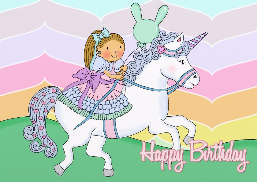 Verjaardag Prinses Unicorn - TbJ 1