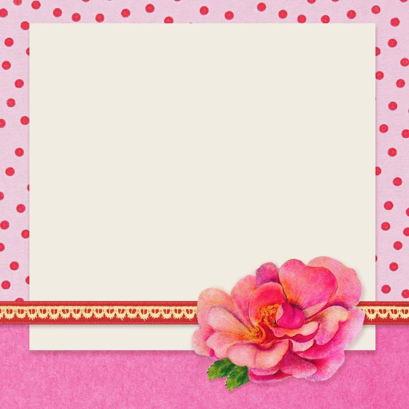 Verjaardag Retro Poesje Roze 3